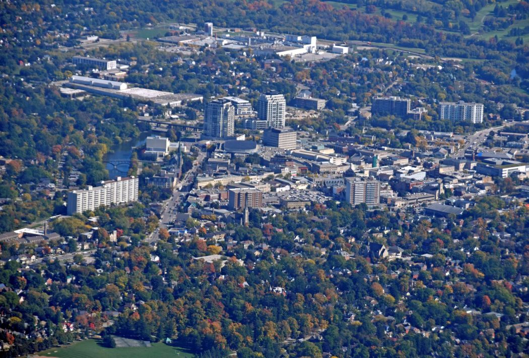 Guelph aerial