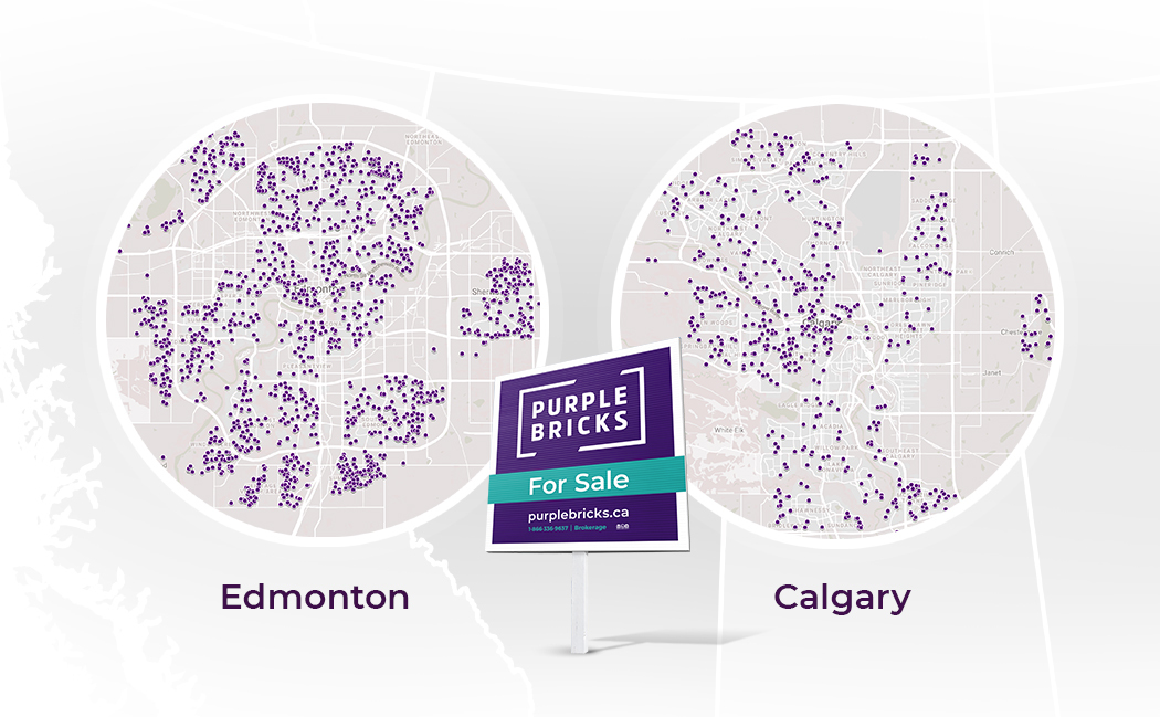 Purplebricks Alberta Map